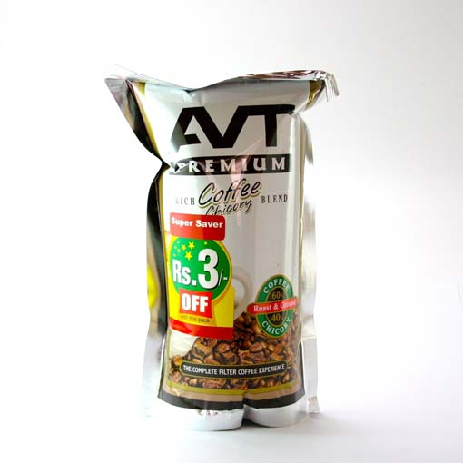 Chicory Coffee Brands >> Online grocery shop Trivandrum at KADA.in Avt Premium Rich Coffee Chicory Blend 200G